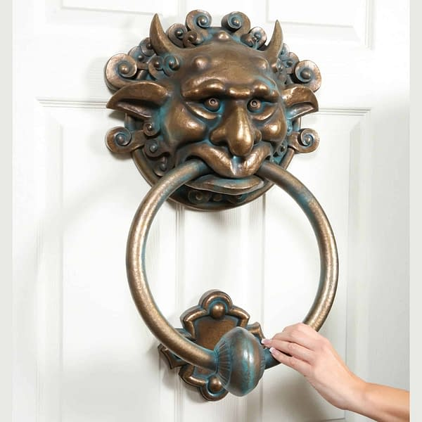 Chronicle Collectables has Full-Sized Door Knockers from 'Labyrinth'!