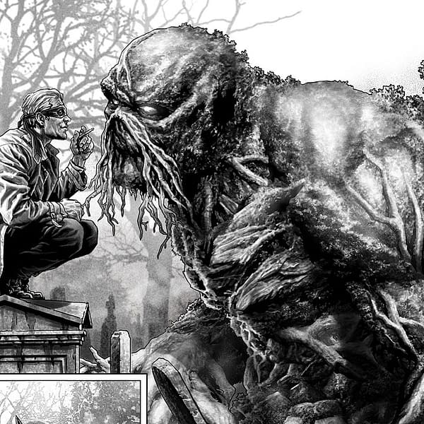 Sneak Peek Inside the Delayed Batman: Damned #3 Has John Constantine Wearing a Superhero Mask