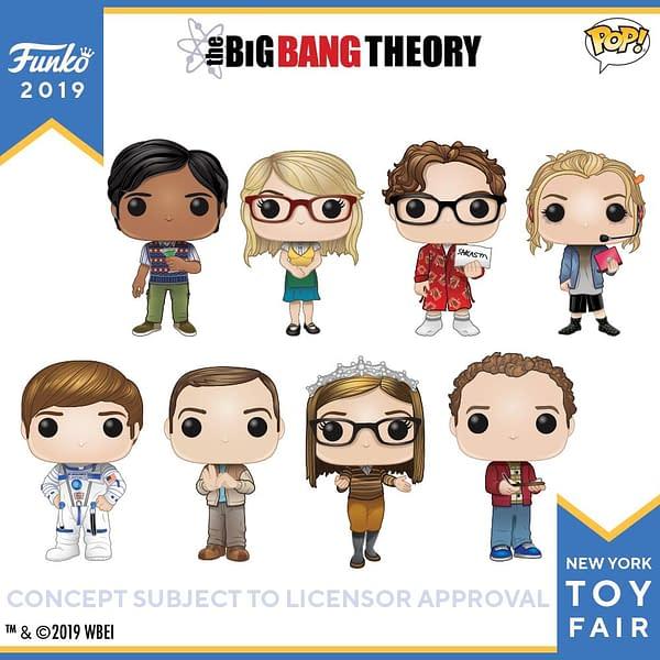Funko New York Toy Fair BIg Bang Theory