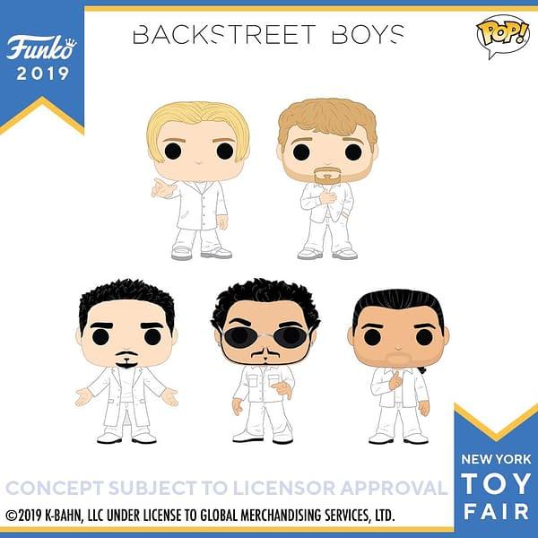 Funko New York Toy Fair Backstreet Boys