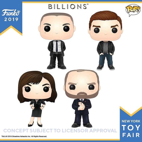 Funko New York Toy Fair Billions