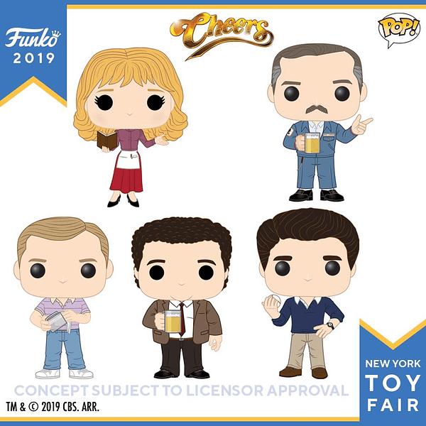 Funko New York Toy Fair Cheers