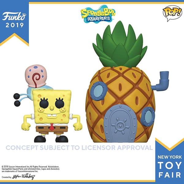 Funko New York Toy Fair Spongebob Town