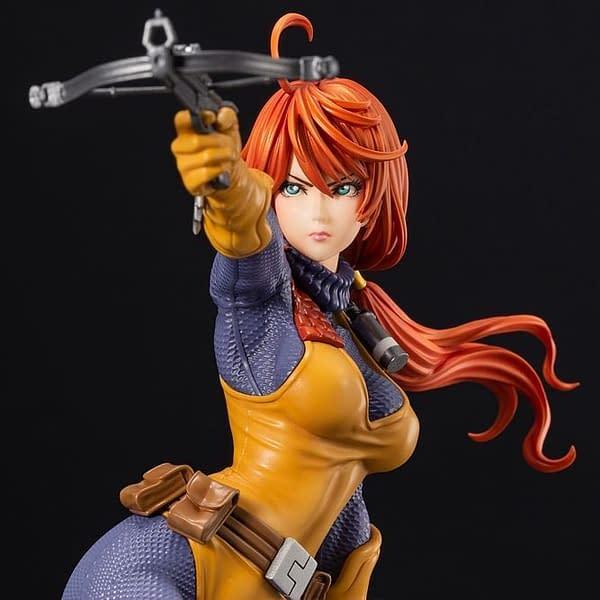 G.I. Joe Kotobukiya Bishoujo Scarlett Statue 5