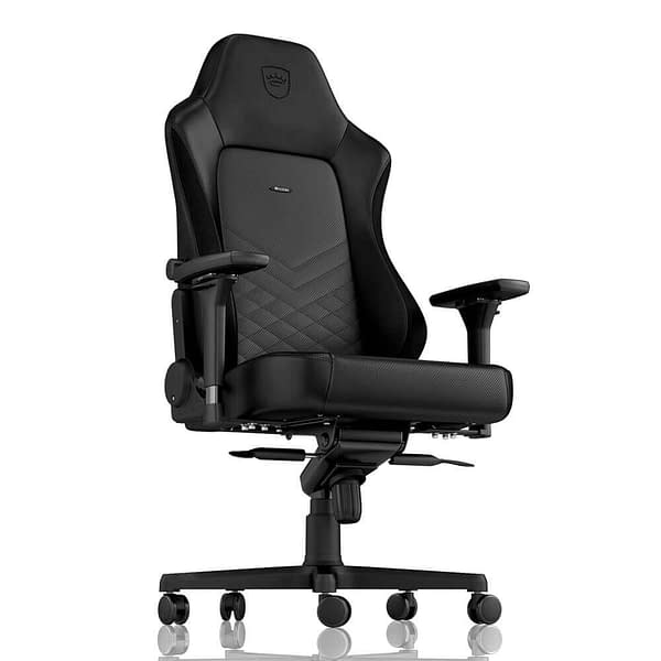 The noblechairs HERO Series has Less Flair, but More Practicality
