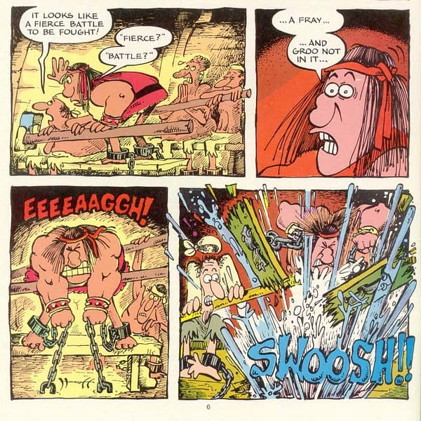Is This the Savage Sword of Conan #1? Or is it Groo The Wanderer? (Spoilers)