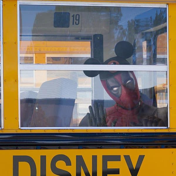 Ryan Reynolds' Deadpool Prepares Himself for Disney, Fox Deal Day