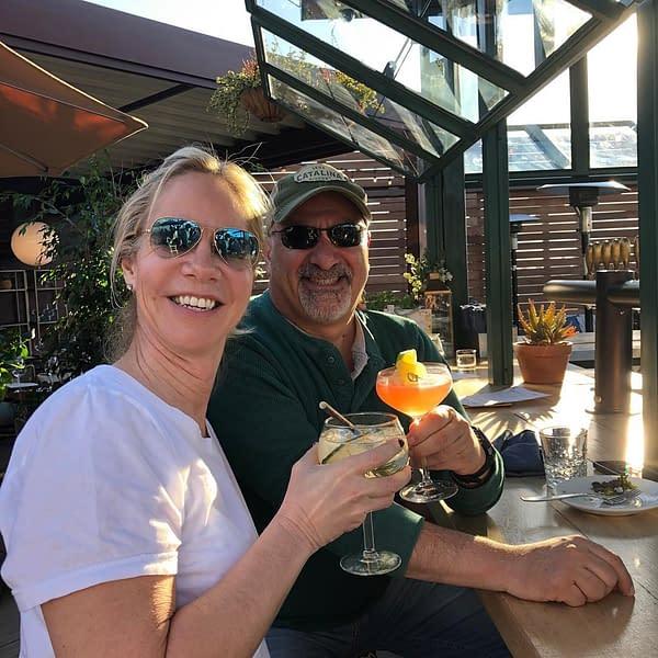 Diane Nelson, Dan DiDio and Drinks…