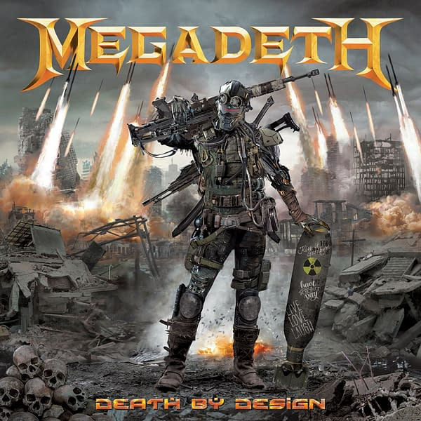 Megadeth and Heavy Metal Publish 35th Anniversary Graphic Novel, With All-Star Creators