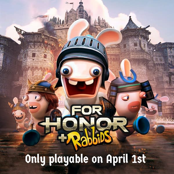 The Rabbids are Invading the World of For Honor