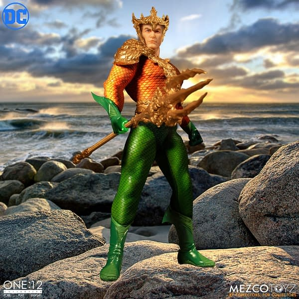 Aquaman One:12 Collective Figure Now Up For Preorders