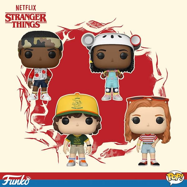 Check Out Tons of New Funko Stranger Things Season 3 Pops and Merch!