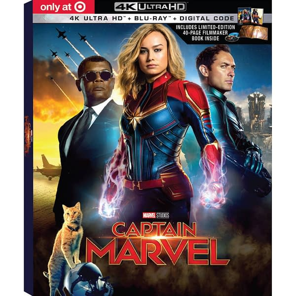 'Captain Marvel' Arrives on Digital in May, Blu-Ray in June