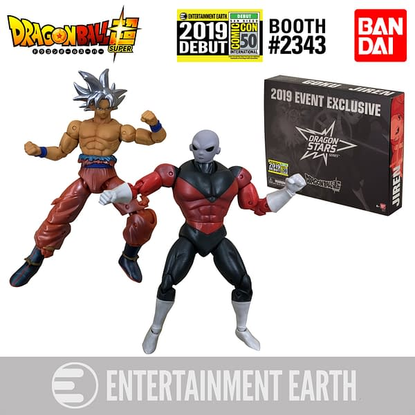 Exclusive: Dragon Ball Stars Goku vs Jiren SDCC Exclusive From Entertainment Earth!