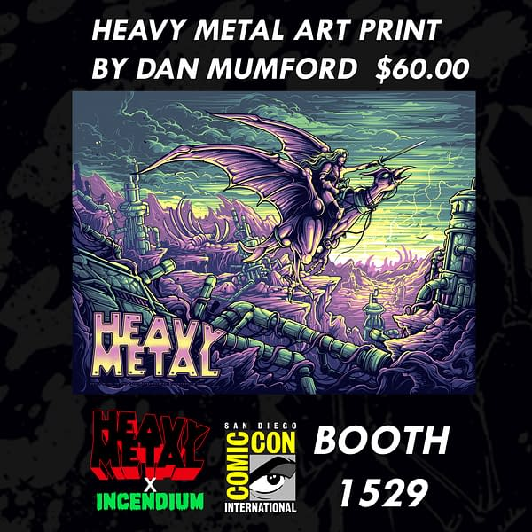 Dave Mustaine Signs Megadeth Graphic Novel at San Diego Comic-Con – And Other Heavy Metal Exclusives and Debuts