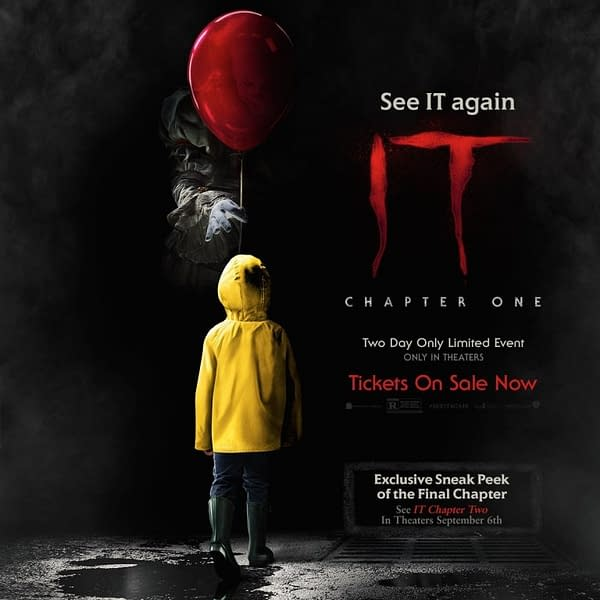 """""""IT: Chapter 1"""" Returns to Theaters, Includes Sneak Peak at """"IT: Chapter Two"""""""