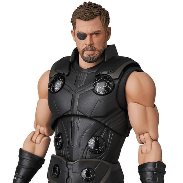 Thor is Ready For Battle With New MAFEX Infinity War Figure