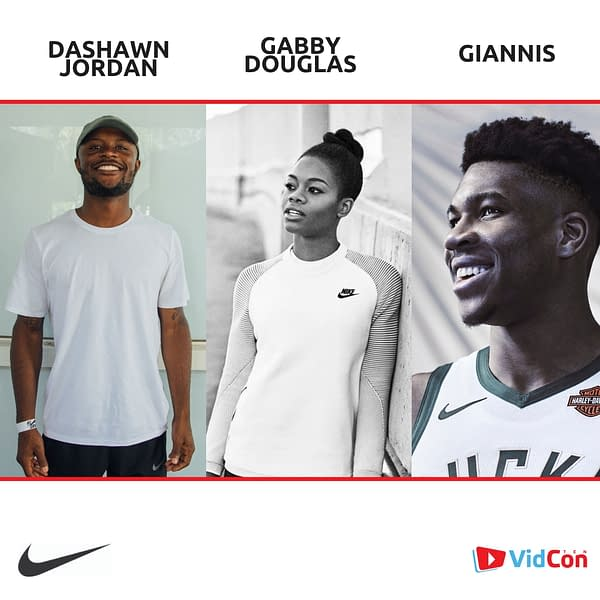 VidCon & Nike Announce the Nike Sport Court For The Event