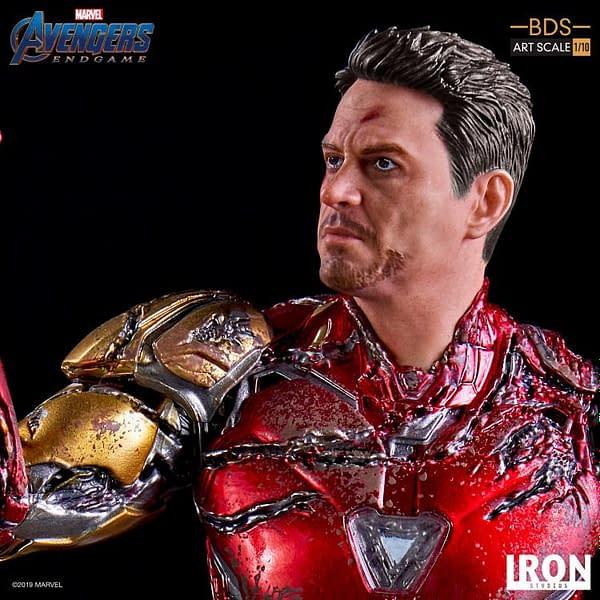 "Iron Studios reveals ""I am Iron Man"" statue that We Love 3000!"