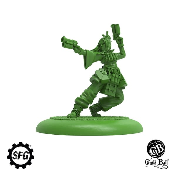 """""""Guild Ball"""" Releasing Four New Player Models"""