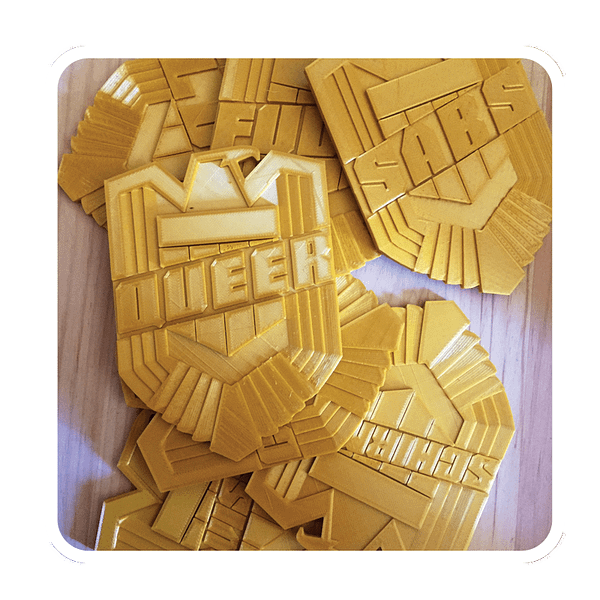 The Irony Age Of Comics – Judge Dredd Publishers Oppose Parodies of Judge Badges (UPDATE)