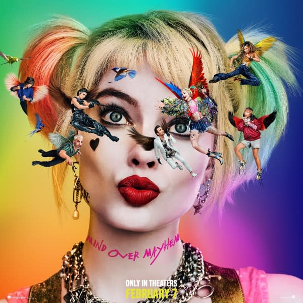 "5 New Posters and Promo Art for ""Birds of Prey"""