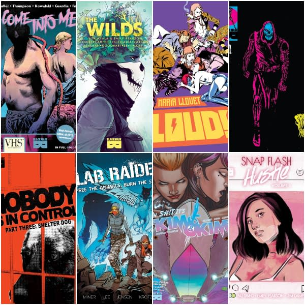 Black Mask January 2020 Solicits - and Details of Cancellations, Rescheduling, Resolicitations and Digital Only Replacements