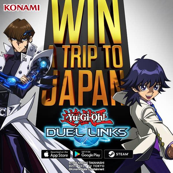 "Konami Is Going To Send Two ""Yu-Gi-Oh!"" Players To Japan"