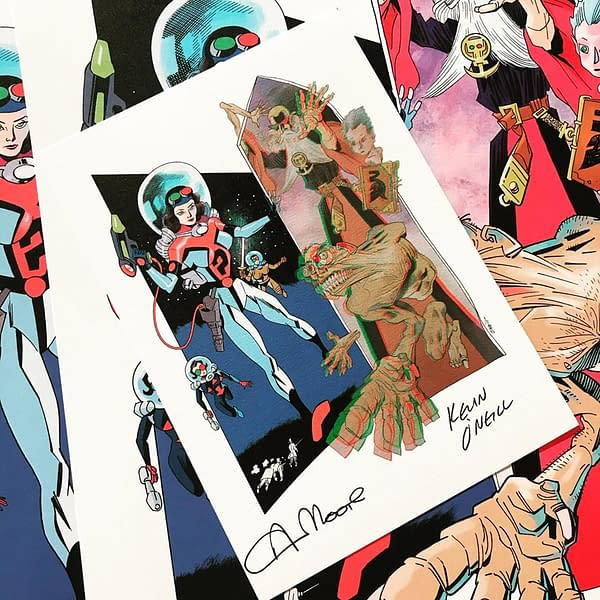 Get Your Final League of Extraordinary Gentlemen: The Tempest, Signed by Alan Moore and Kevin O'Neill