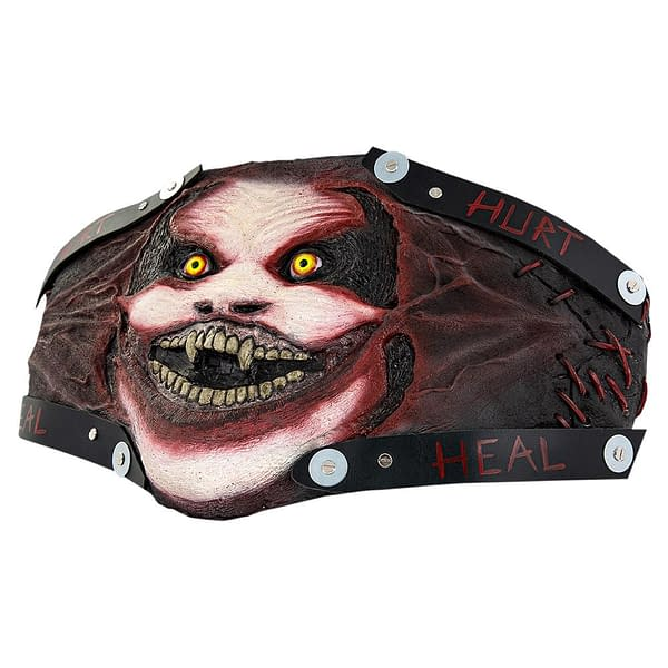 """""""The Fiend"""" Bray Wyatt Custom Title by Tom Savini Available Now...For $6,499"""