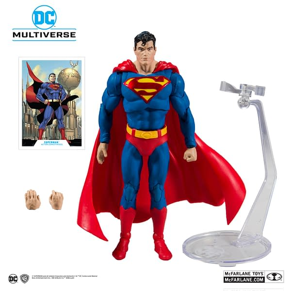McFarlane Toys Reveals First DC COmics Figures, Up For Order Now!