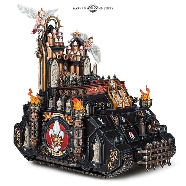 """Sisters of Battle Goodies Coming This Week - """"Warhammer 40,000"""""""
