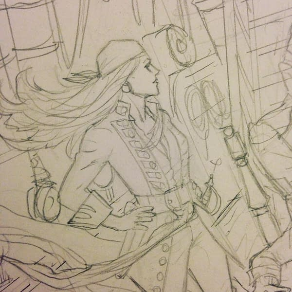 "When The Best Pirates Were Women - Stephanie Phillips and Craig Cermak Launch ""A Man Among Ye"" from Image Comics in May"
