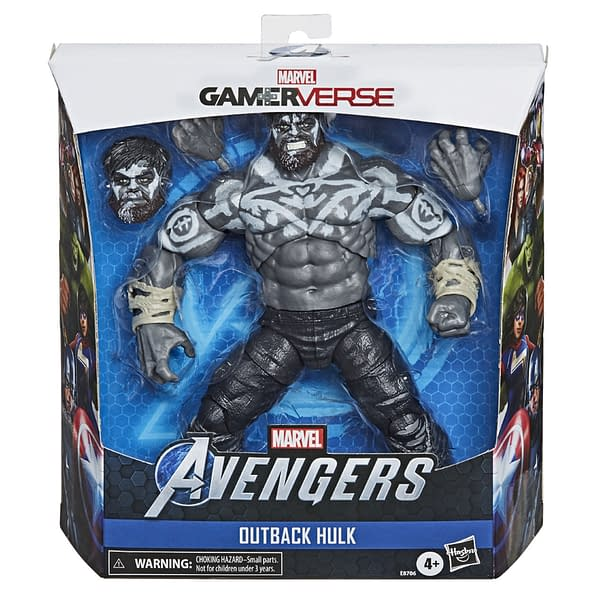 Marvel Legends Outback Hulk From New Game Coming to Gamestop