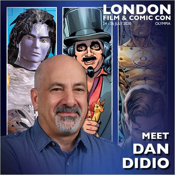 Dan DiDio to be a Featured Guest at London Film And Comic Con 2020 - Same Weekend as San Diego