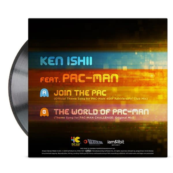 "Iam8bit Is Releasing A ""Pac-Man"" 40th Anniversary Record Store Day Exclusive"