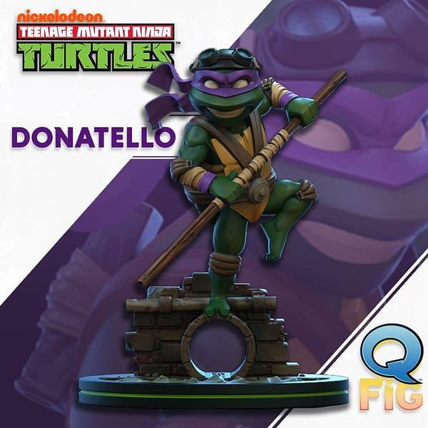 TMNT Q-Figs Coming Form QMx: Donatello and Michaelangelo!
