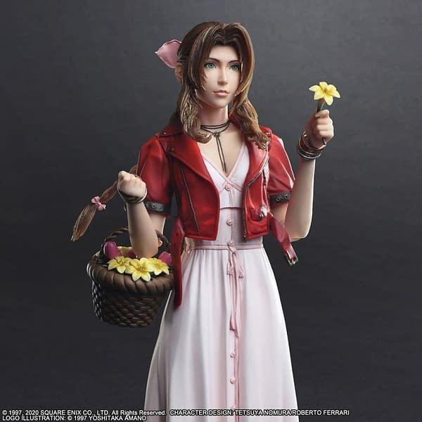 Play Arts Kai Final Fantasy VII Remake Aerith Figure