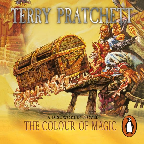 """The late Sir Terry Pratchett's """"Discworld"""" novels are being developed for television, courtesy Narrativia and Penguin."""