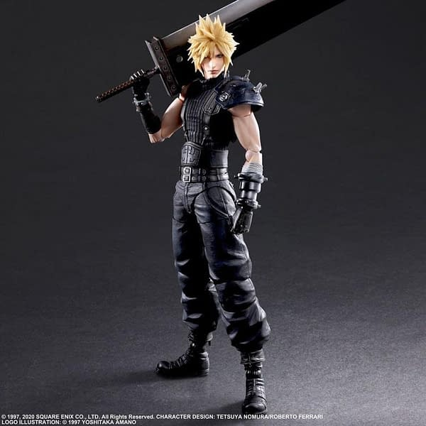 Play Arts Kai Final Fantasy VII Remake Cloud Figure