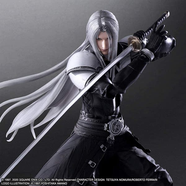 Final Fantasy VII Remake Sephiroth Play Arts Kai figure from Square Enix
