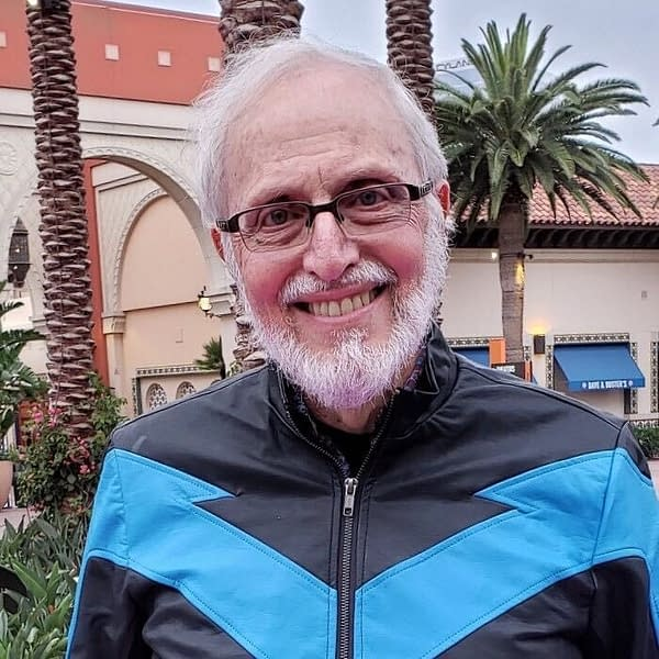 <em>Marv Wolfman, part of Alt Free Comic Book Days, photo used with permission</em>