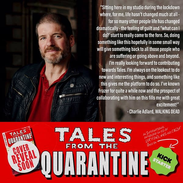 The Walking Dead's Charlie Adlard Joins Tales from the Quarantine