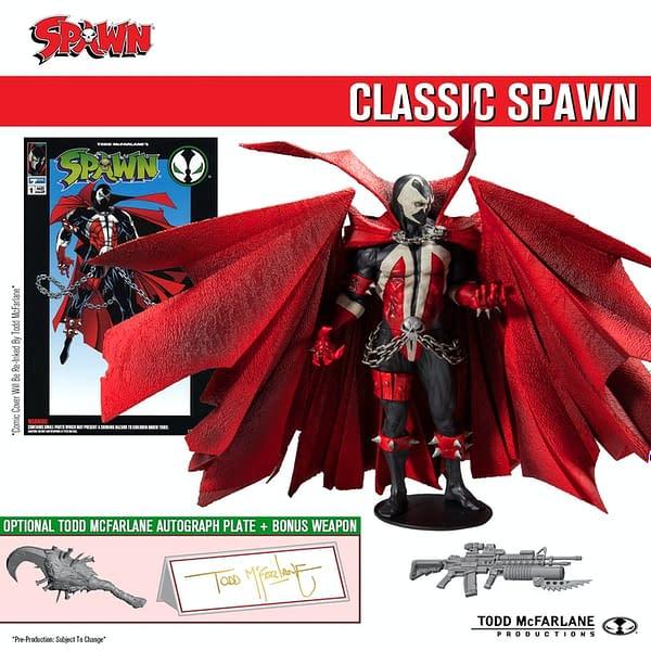 The Spawn Kickstarter Classic Spawn Figure.