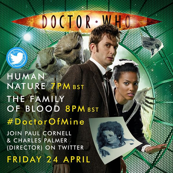 """""""Human Nature"""" and """"Family of Blood"""" are the next episodes for a Doctor Who rewatch, image courtesy BBC Studios."""