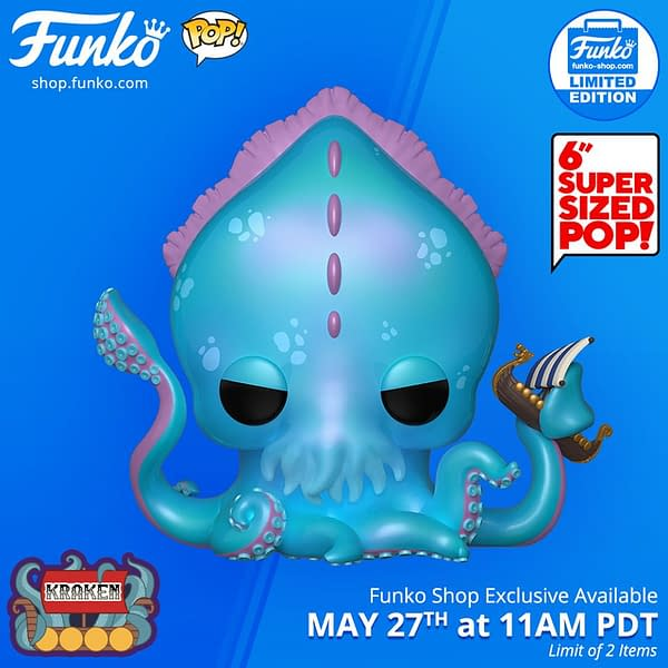 Today's Funko Shop Exclusive Pop Is the Mythical Kraken