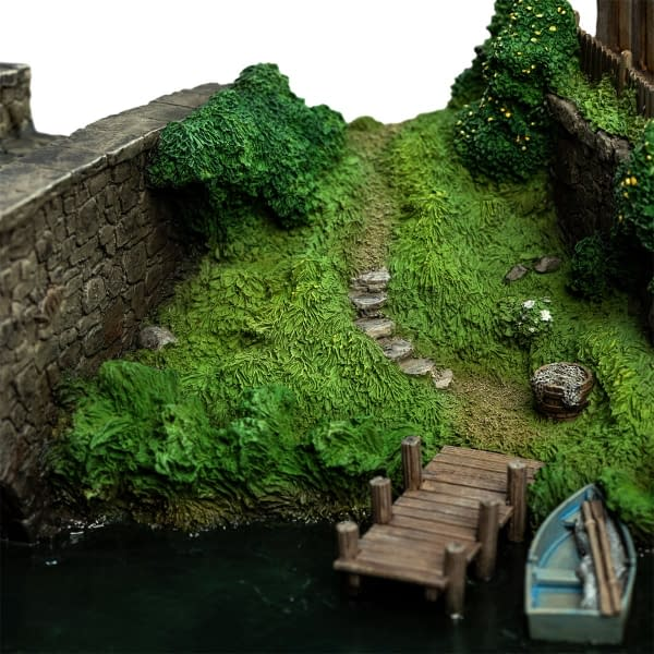 The Hobbit Hobbiton Mill and Bridge Environment from WETA Workshop