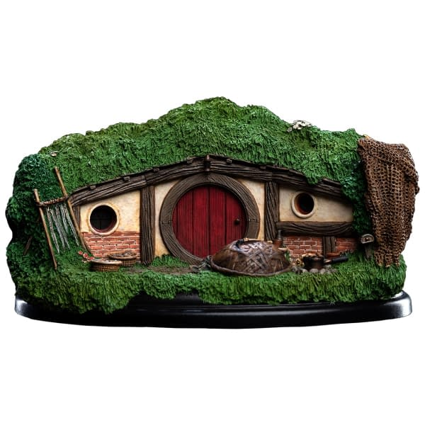 The Hobbit 31 Lakeside Hobbit Hole from WETA Workshop