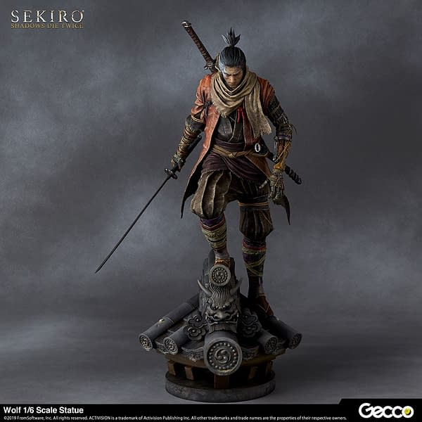 Sekiro: Shadows Die Twice Statue from Gecco