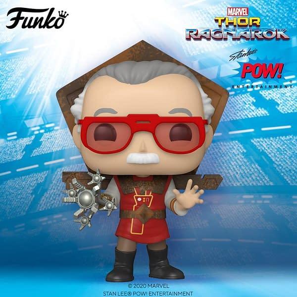 Funko Pop Stan Lee Thor Ragnarok